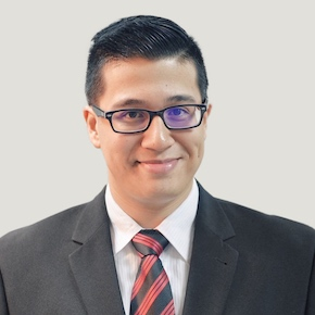 Portrait of Onelivery co-founder Kevin Hadji-Rahim
